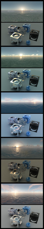 Ocean Dawn - HDRI Pack - 3DOcean Item for Sale
