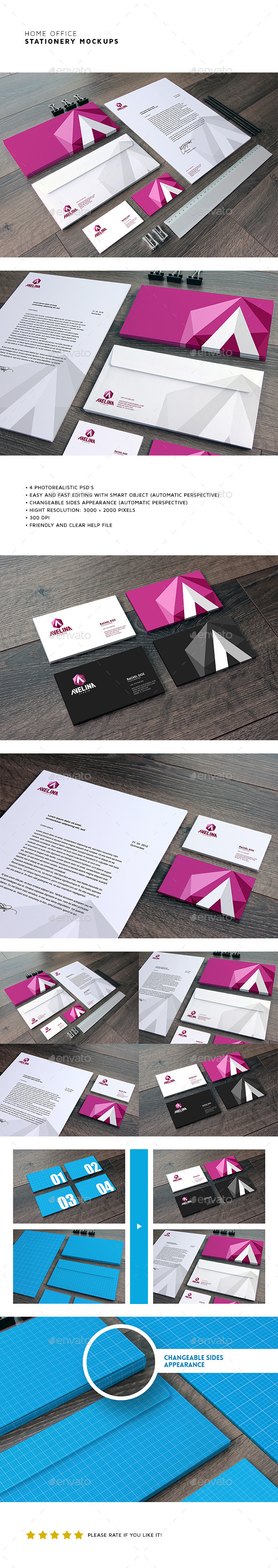 Corporate Stationery Mock-Up (Stationery)