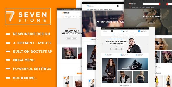 Seven Store - Multipurpose Responsive Shopify Theme