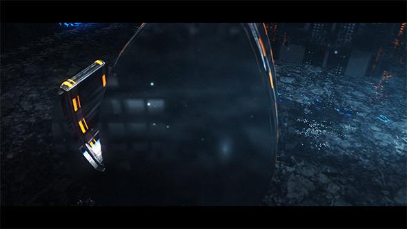 AE模板:4K电影级分辨率商业三维金属震撼高科技标志片头E3D V2模版E3D Grand 免费下载