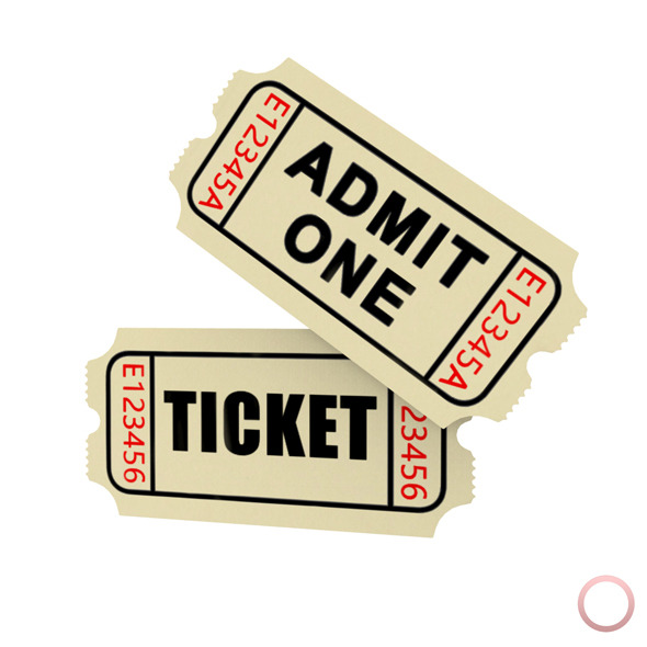Admit One Ticket  - 3DOcean Item for Sale