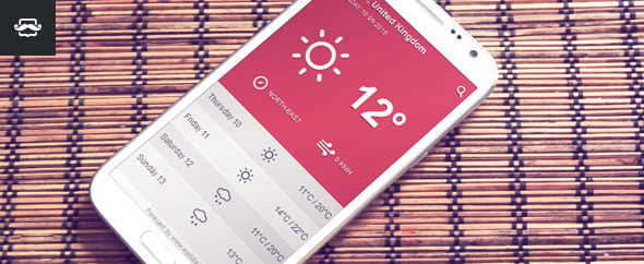 J.B.Weather Widget 2.0 - Standalone