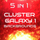 Cluster Galaxy Backgrounds Vol 1