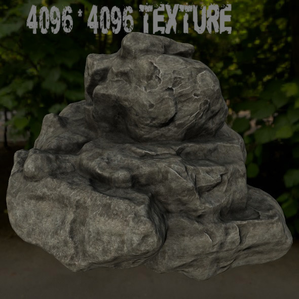 rock_5 - 3DOcean Item for Sale