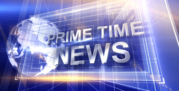 Broadcast Design Primetime News Open
