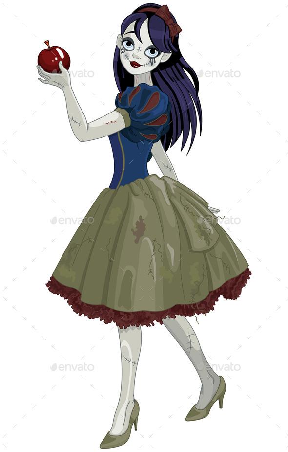 Halloween Snow White