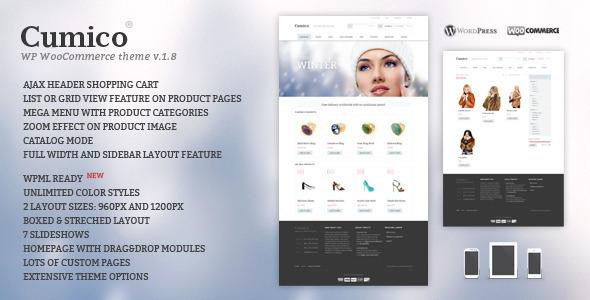 Cumico WP eCommerce theme