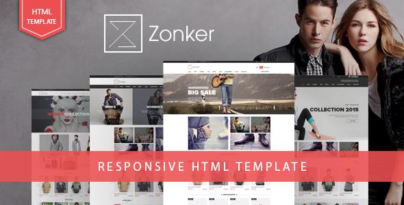 Zonker - Responsive eCommerce HTML5 Template