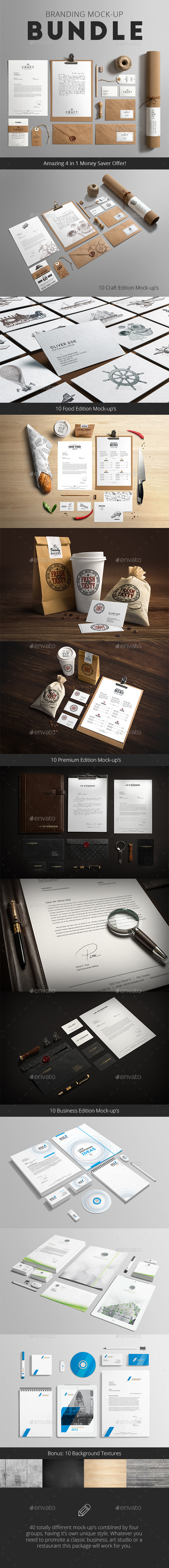 Stationery / Branding Mock-Up Bundle (Stationery)