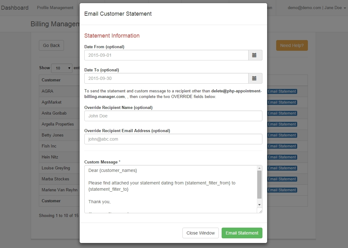 billing management Property management billing is easy and affordable with munibilling's comprehensive utility billing toolkit use munibilling to bill for any service, manage customers.