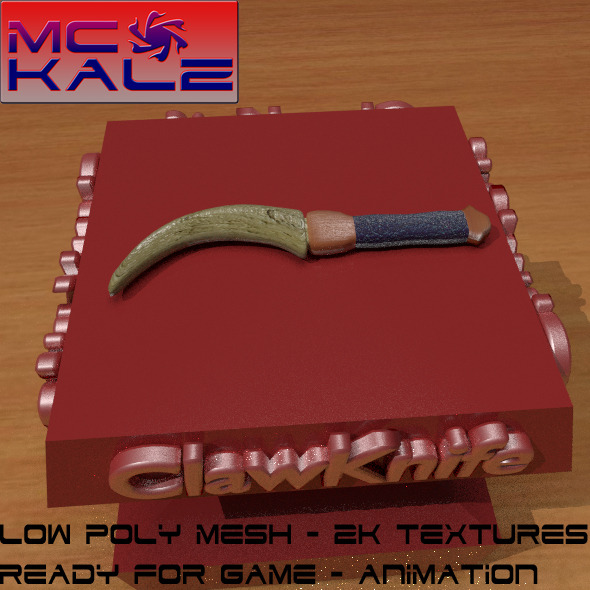 Clawknife - 3DOcean Item for Sale