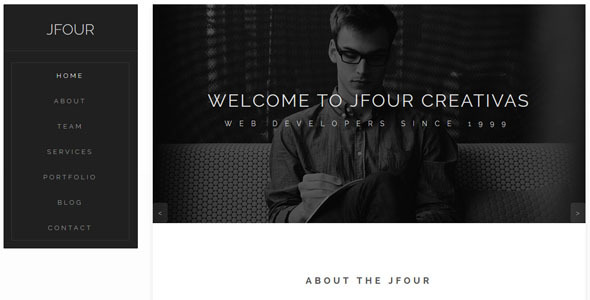 Jfour - Parallax Muse Template