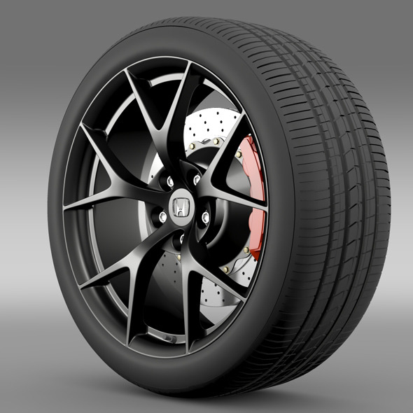 Honda NSX wheel 2015 - 3DOcean Item for Sale