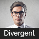 Divergent - Personal Vcard Resume HTML Template - ThemeForest Item for Sale
