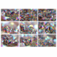 9 JPG files Multi-coloured crystals