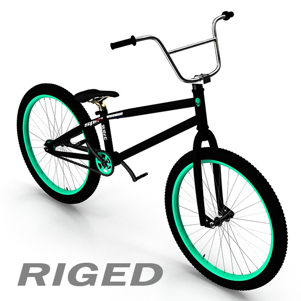 BMX Bicycle - 3DOcean Item for Sale