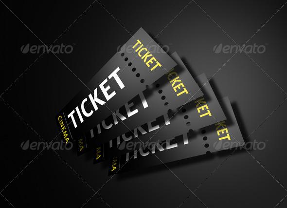 PhotoDune Cinema Tickets 1290059