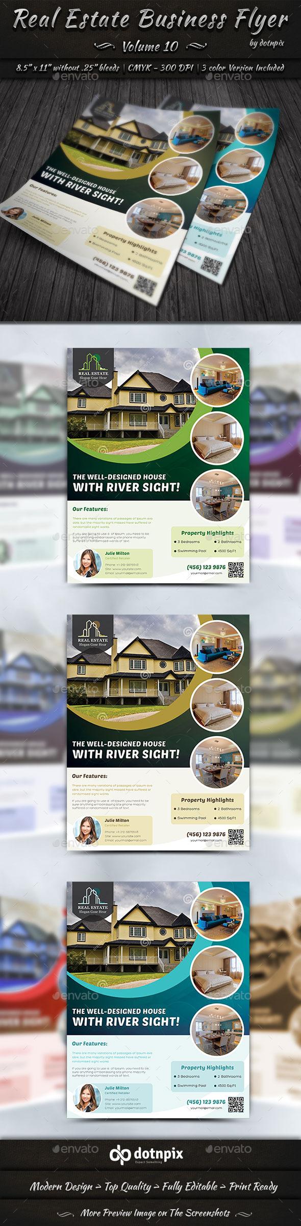 Real Estate Business Flyer | Volume 10