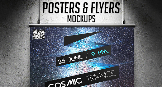 Posters & Flyers Mockups