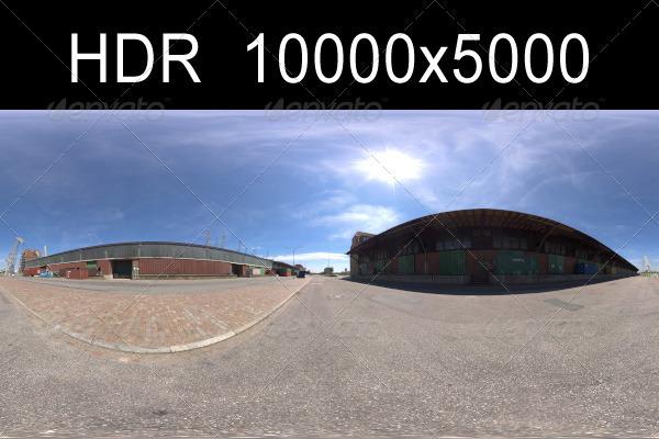 3DOcean Harbor 2 HDR Environment 1290324