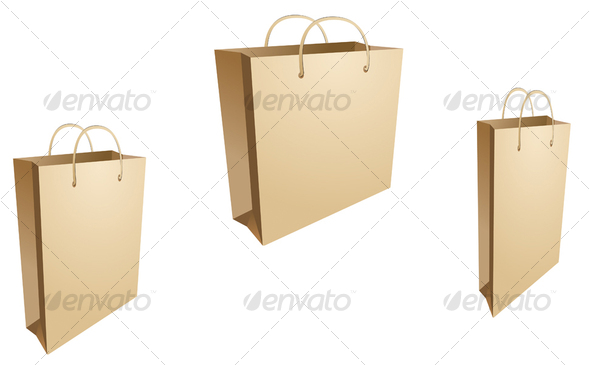GraphicRiver Isolated shopping bags 51469