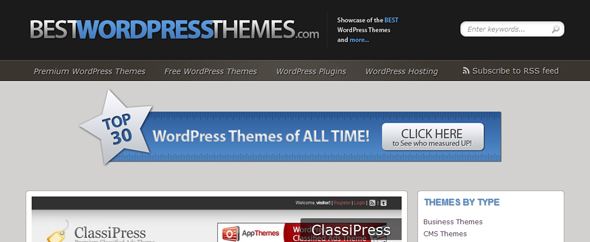 Bestwordpressthemes.com screen capture 2011 1 20 22 38 16