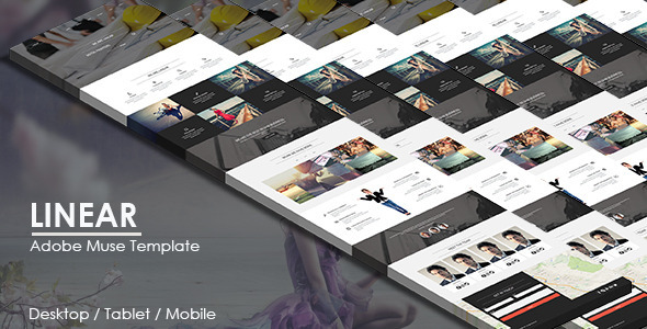 Linear - Multipurpose Muse Template