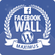 jQuery Facebook Wall WordPress