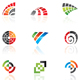vector design elements: abstract icon set - GraphicRiver Item for Sale