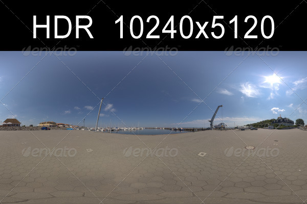 Harbor 3 HDR Environment - 3DOcean Item for Sale