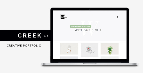 Creek - Creative Agency Portfolio HTML5 Theme
