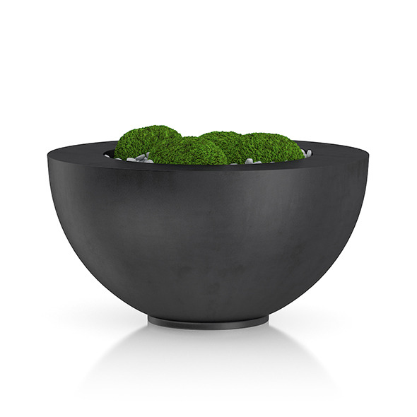 Moss Pot - 3DOcean Item for Sale