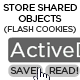 Flash Shared Object (or 'Flash cookie') tool - ActiveDen Item for Sale
