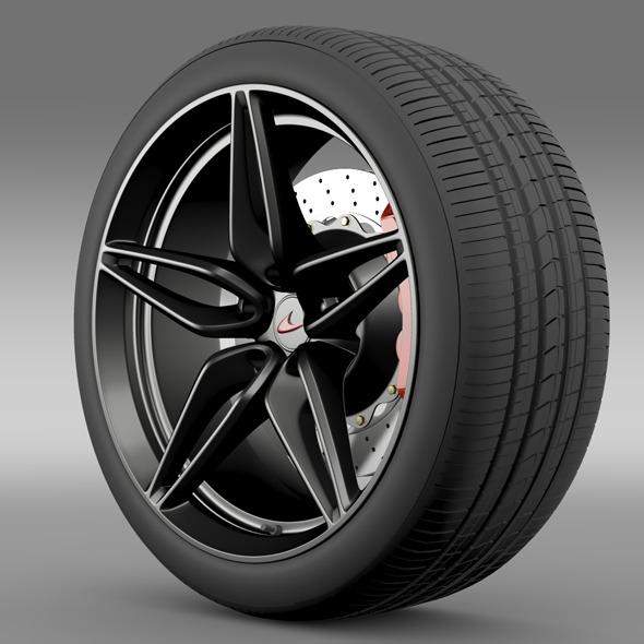 Mclaren 570S coupe wheel 2015 - 3DOcean Item for Sale