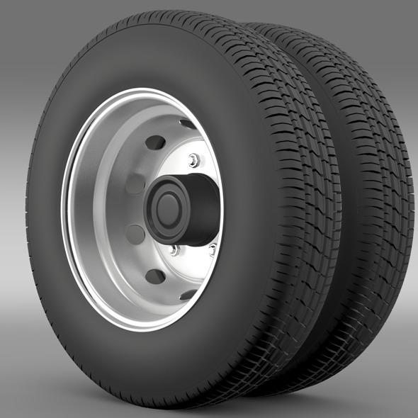 Nissan Cabstar wheel