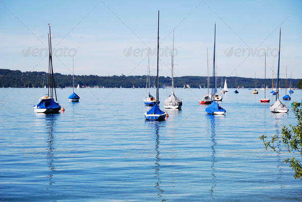 Sail boats - Stock Photo - Images
