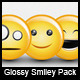 Smiles - Glossy Vector Smileys - GraphicRiver Item for Sale