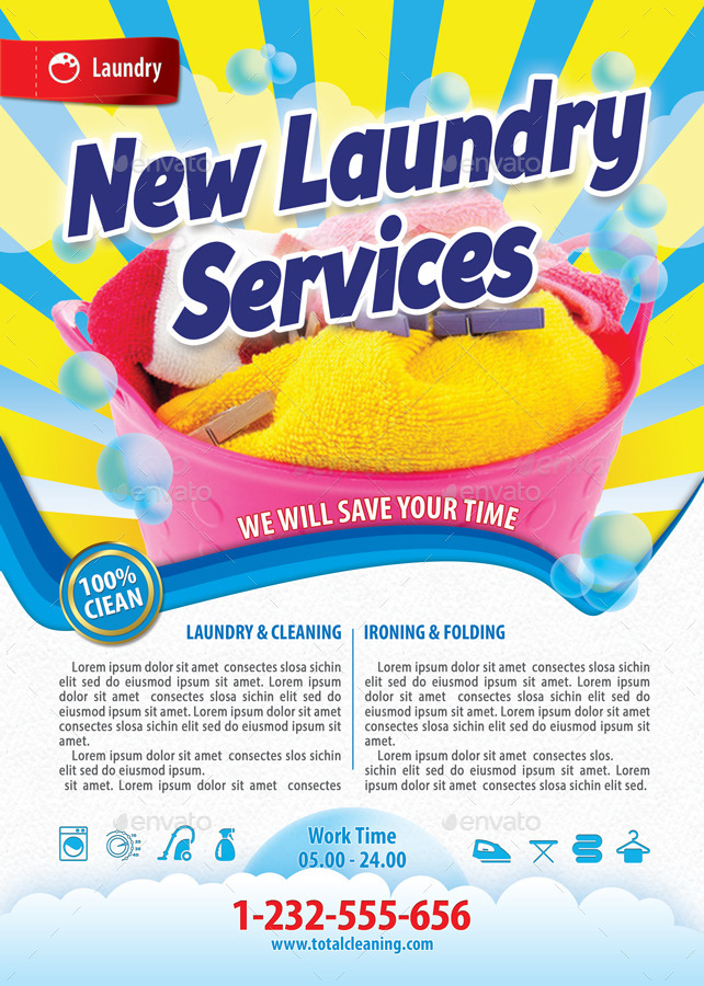 laundry flyers templates 28 images laundry services calendar – Calendar Flyer Template