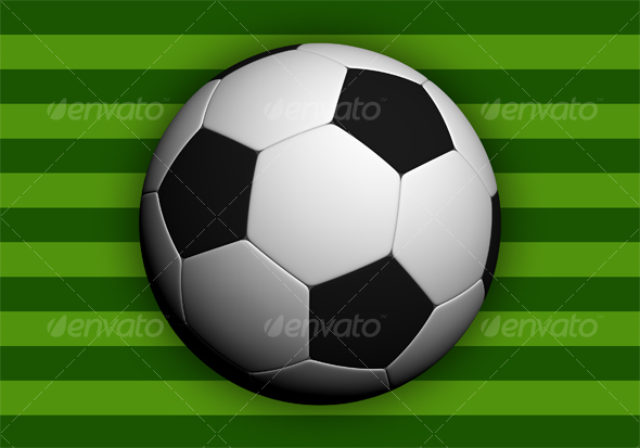 GraphicRiver Soccer ball Hi-res 51552