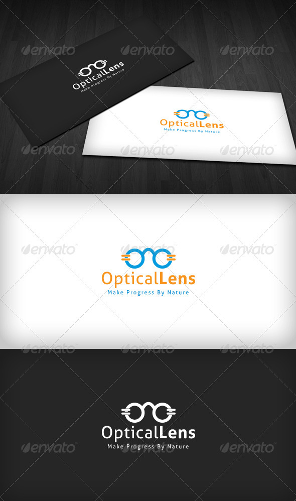 Optical Lens Logo