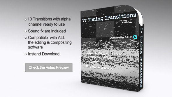 Tv Tuning Transitions With Alpha Vol.1