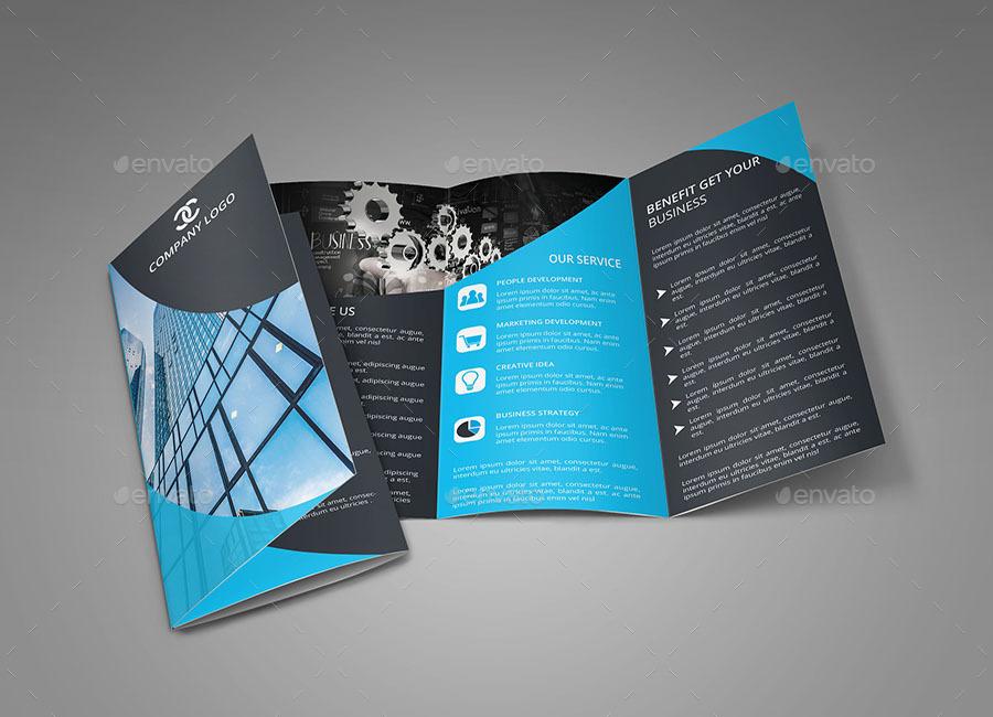 Graphicriver Corporate Tri-Fold Brochure