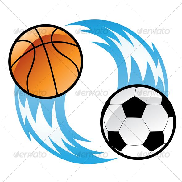 GraphicRiver football and basketball 51568