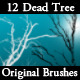 12 Dead Tree Brushes For Photoshop - GraphicRiver Item for Sale