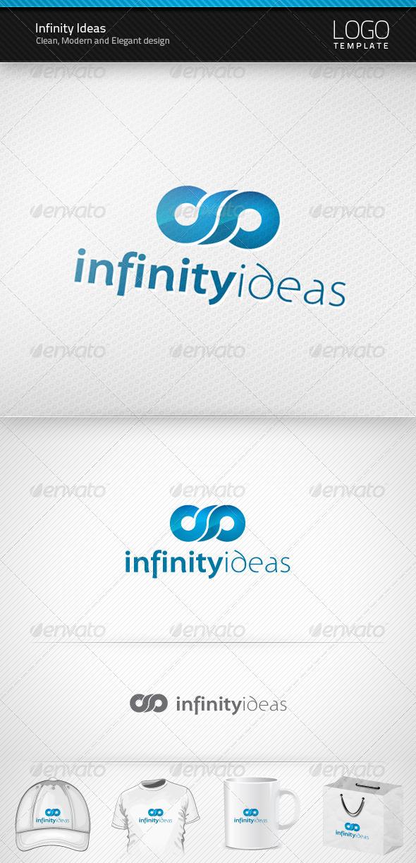 Infinity Ideas Logo - Symbols Logo Templates