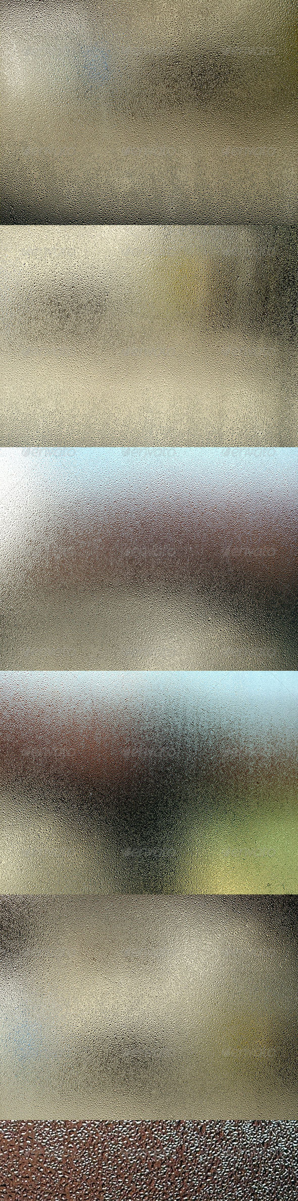 Sauna Wet Windows - Liquid Textures