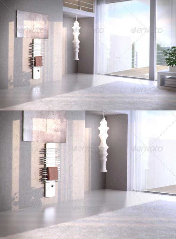 3DOcean Zehnder Arcus towel 99913
