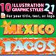 10 Illustrator Graphic Styles Vol. 21