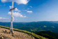 Cross Catholic  at the top of the Bieszczady Mountains in Poland - PhotoDune Item for Sale