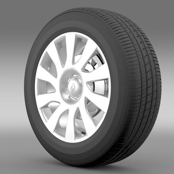 Renault Trafic Van wheel 2015 - 3DOcean Item for Sale